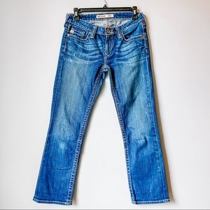 Big Star Rikki Low Rise Jeans Straight 26